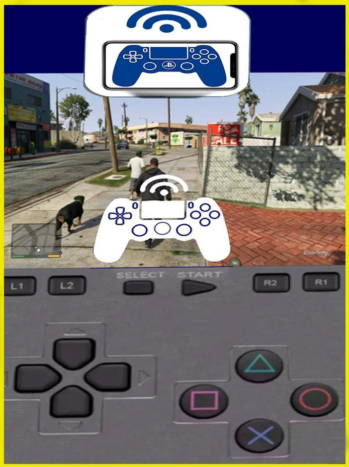 Remote Play For PS4 - Emulator for Android - APK Download