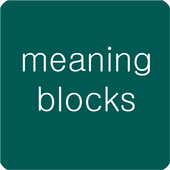 meaning blocks icon