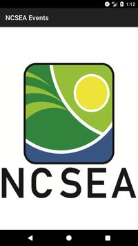 NCSEA Events poster