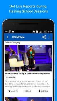 Healing School Mobile screenshot 2
