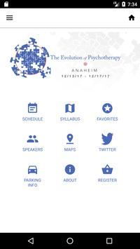 Evolution of Psychotherapy poster