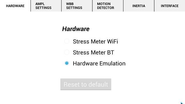 Stress Meter Wireless screenshot 2