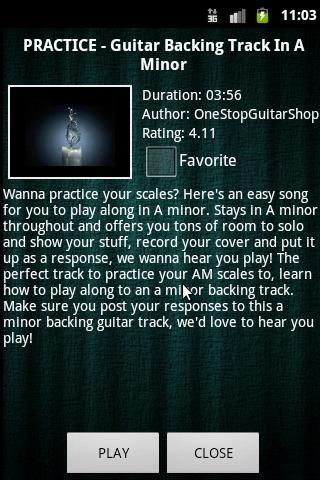 Guitar Backing Tracks for Android - APK Download