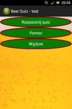 Beer Quiz - test o piwie poster