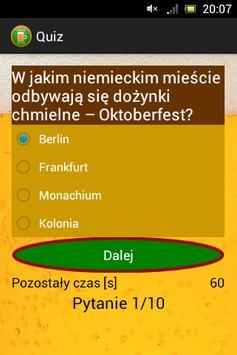 Beer Quiz - test o piwie apk screenshot