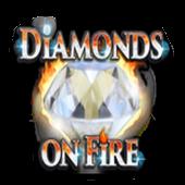 Diamonds on Fire icon