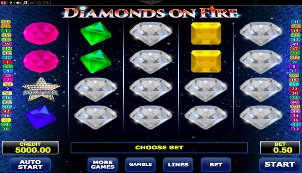 Diamonds on Fire poster