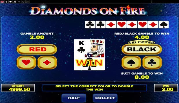 Diamonds on Fire screenshot 2