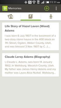 FamilySearch Memories apk screenshot