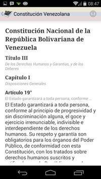 Ley Constitución de Venezuela screenshot 5