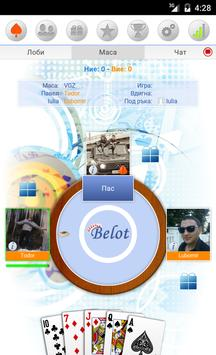 Belot Online apk screenshot