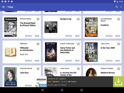 FBReader Bookshelf apk screenshot