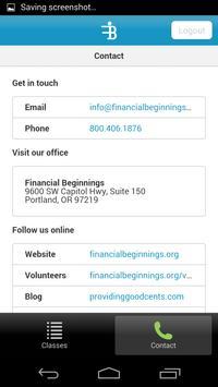 Financial Beginnings screenshot 3