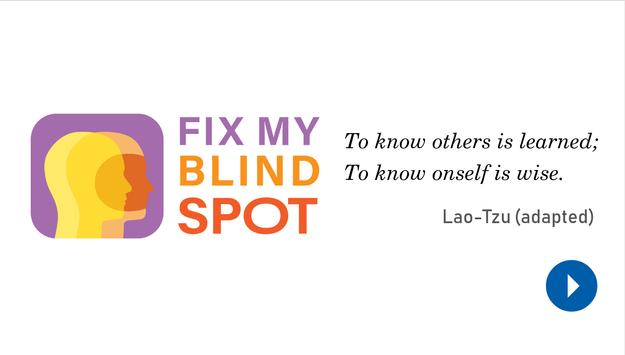 Fix My Blind Spot poster