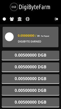 DGB Farm - Free DGB Coins apk screenshot