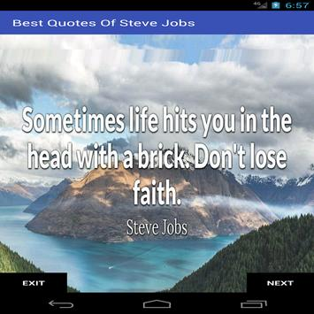 Best Quotes Of Steve Jobs apk screenshot