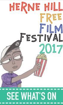 Herne Hill Free Film Festival poster