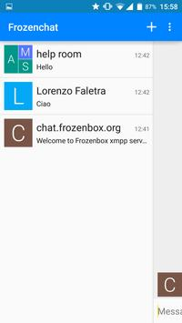 FrozenChat screenshot 2