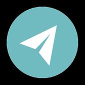 Social navigator icon