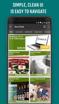 Woot Check: Find Daily Deals, Offers & Discounts poster