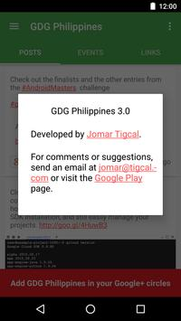 GDG Philippines apk screenshot