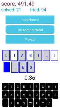 Worduess apk screenshot