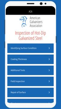Inspection of Galvanized Steel poster