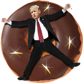 Donut Trump icon