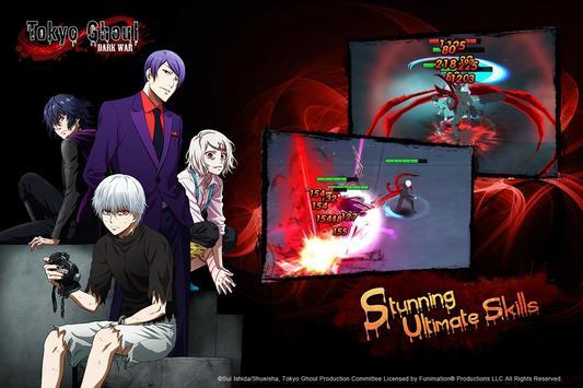 Tokyo Ghoul: Dark War imagem de tela 9