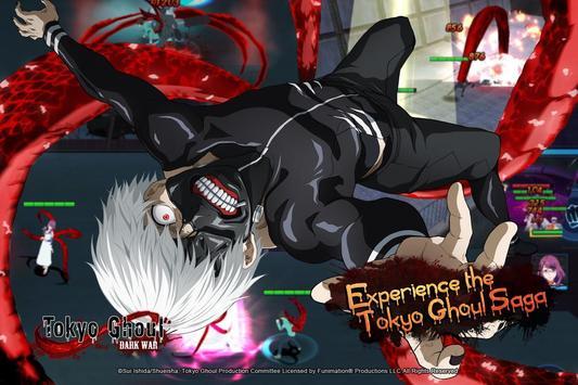 Tokyo Ghoul:Dark War poster