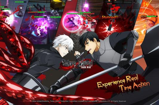 Tokyo Ghoul: Dark War screenshot 2