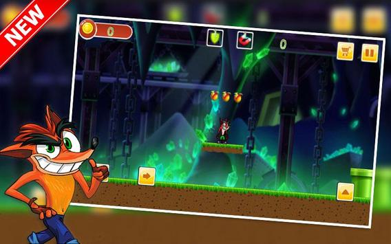 Bandicoot Jungle Adventure Run - Bandicoot Game apk screenshot