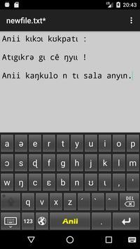 Anii kɩkɔɩ kʊkpatɩ poster