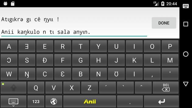 Anii kɩkɔɩ kʊkpatɩ screenshot 3