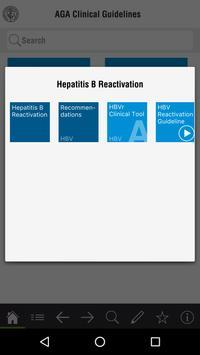 AGA Clinical Guidelines screenshot 1