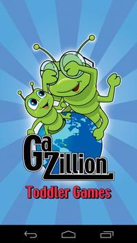 Gazillion Toddler Games poster