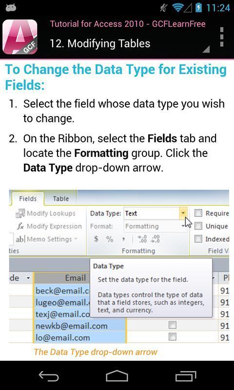 access 2010 tutorial pdf free download