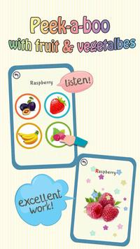 Baby Learning Card - Fruit apk screenshot