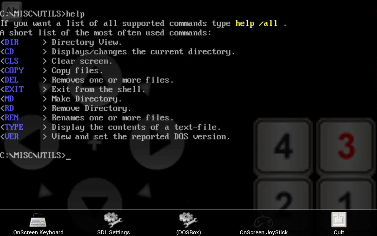 gDosBox - DOSbox for Android for Android - APK Download