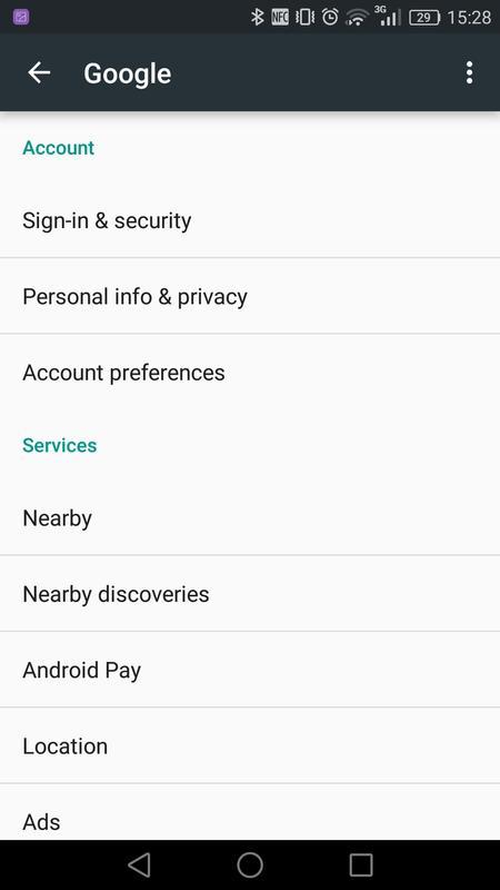 google settings apk