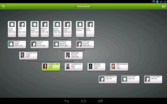 Geneanet screenshot 3
