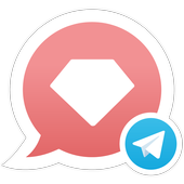 Telegram with GetGems icon