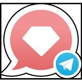 Telegram with GetGems icon