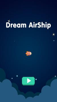 Leaping AirShip poster