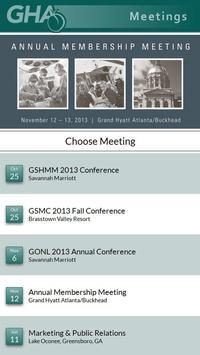 GHA Meetings apk screenshot