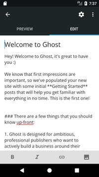 Ghost screenshot 2