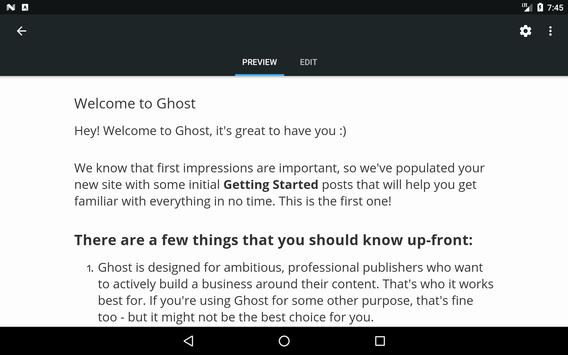 Ghost screenshot 9