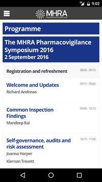 MHRA GPVP 2016 Event App apk screenshot