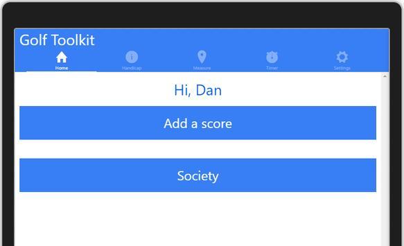 Golf Toolkit screenshot 2