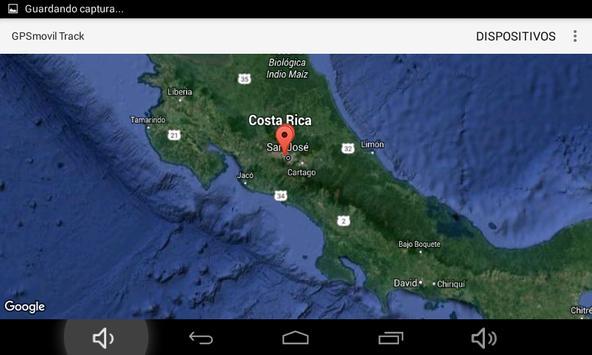 GPSmovil Track screenshot 10